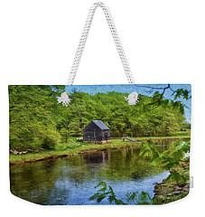 Rye In Spring Weekender Tote Bag by Tricia Marchlik