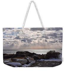 Rye In Winter Weekender Tote Bag