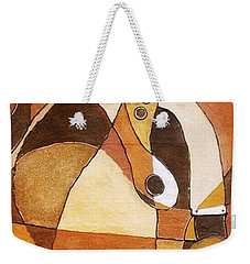 Rythm Of Unity Weekender Tote Bag by Bankole Abe