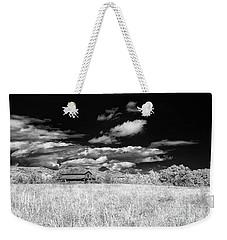 S C Upstate Barn Bw Weekender Tote Bag