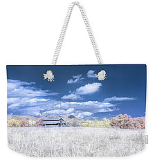 S C Upstate Barn Faux Color Weekender Tote Bag