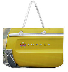 Weekender Tote Bag featuring the photograph S S Impala by Mike McGlothlen