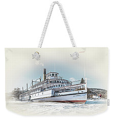 Weekender Tote Bag featuring the photograph S. S. Sicamous II by John Poon