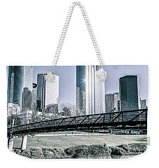 Sabine Promenade Over Buffalo Bayou Weekender Tote Bag