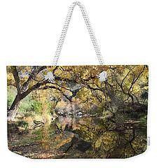 Sabino Canyon In Fall Weekender Tote Bag