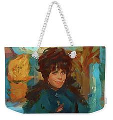 Sabrina Weekender Tote Bag
