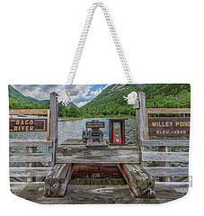 Saco River At Willey Pond Weekender Tote Bag by Brian MacLean
