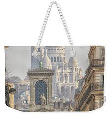 Sacre-coeur  Weekender Tote Bag by Catherine Alfidi