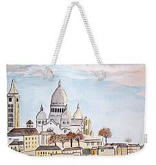 Sacre Coeur Weekender Tote Bag