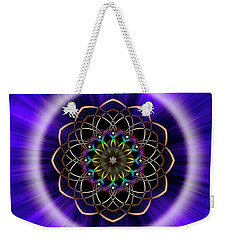 Sacred Geometry 242 Weekender Tote Bag