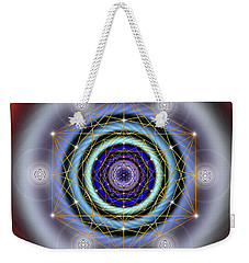 Sacred Geometry 640 Weekender Tote Bag by Endre Balogh