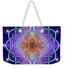 Sacred Geometry 641 Weekender Tote Bag