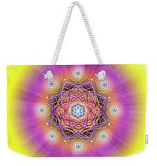 Sacred Geometry 643 Weekender Tote Bag