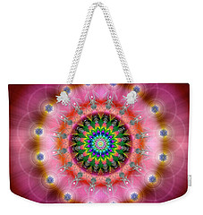 Sacred Geometry 644 Weekender Tote Bag