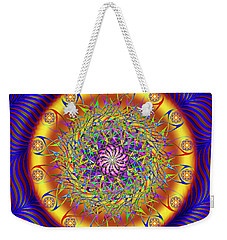Sacred Geometry 649 Weekender Tote Bag