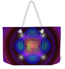 Sacred Geometry 654 Weekender Tote Bag