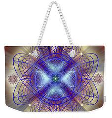 Sacred Geometry 656 Weekender Tote Bag