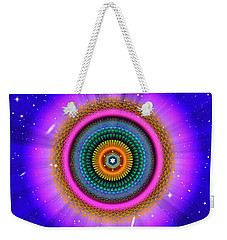 Sacred Geometry 660 Weekender Tote Bag