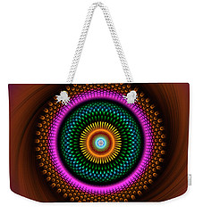 Sacred Geometry 664 Weekender Tote Bag