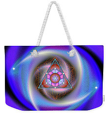 Sacred Geometry 687 Weekender Tote Bag