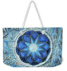 Sacred Geometry Weekender Tote Bag by Angela Stout