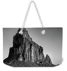 Weekender Tote Bag featuring the photograph Sacred Glow II by Jon Glaser