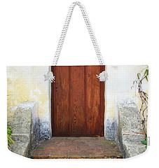 Sacred Heart Door Weekender Tote Bag