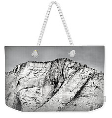 Sacred Mountain Weekender Tote Bag by Nature Macabre Photography