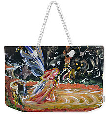 Sacred Pool 2 Weekender Tote Bag