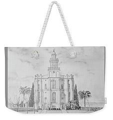 Sacred Steps - St. George Temple Weekender Tote Bag