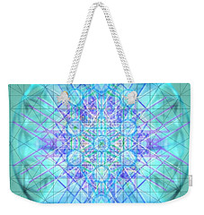 Sacred Symbols Out Of The Void 3b1 Weekender Tote Bag by Christopher Pringer