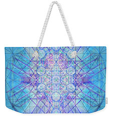Sacred Symbols Out Of The Void A3c Weekender Tote Bag by Christopher Pringer