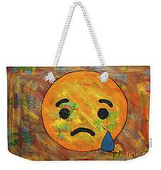 Sad Abstract Weekender Tote Bag