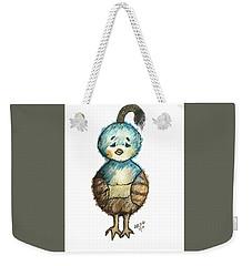 Baby Quail Weekender Tote Bag