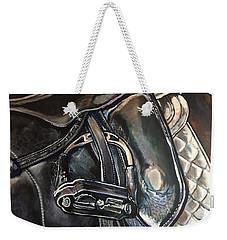 Saddle Study Weekender Tote Bag
