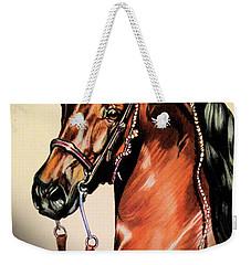 Saddlebreds Weekender Tote Bag by Cheryl Poland