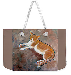 Saddle Tramp- Ranch Kitty Weekender Tote Bag