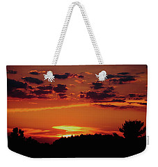 Weekender Tote Bag featuring the photograph Sadie's Sunset by Bruce Patrick Smith
