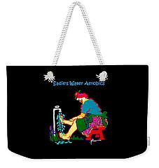 Sadie's Water Aerobics  Weekender Tote Bag