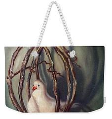 The Dove Weekender Tote Bag by Randy Burns