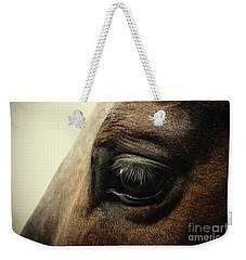 Sadness Horse Eye Weekender Tote Bag