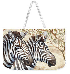 Safari Sunrise Weekender Tote Bag by Mauro DeVereaux