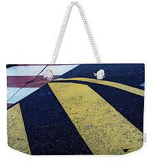 Safe Crossing Weekender Tote Bag