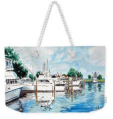 Safe Harbor Weekender Tote Bag by Jim Phillips