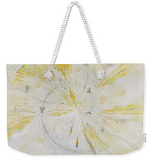 Weekender Tote Bag featuring the mixed media Safe by Jessica Eli