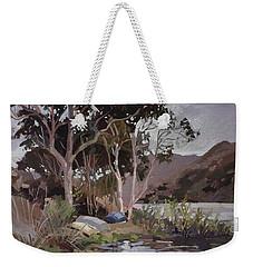 Safe Shelter  - Plein Air - Catalina Island Weekender Tote Bag