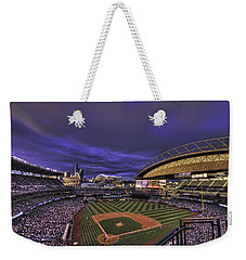 Safeco Field Weekender Tote Bag by Dan McManus