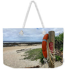 Weekender Tote Bag featuring the photograph Safety First by Brian Eberly