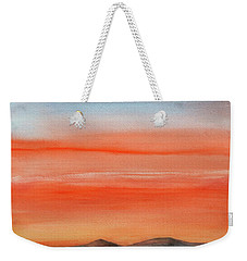 Saffron On The Mountains Weekender Tote Bag