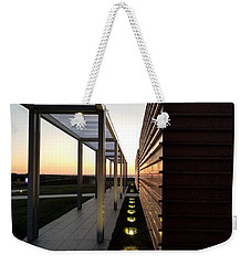 Weekender Tote Bag featuring the photograph Sag Harbor Sunset 1 by Rob Hans
